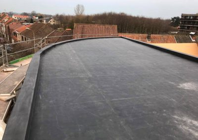 Afgerond nieuwbouw dak